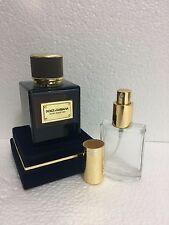 VELVET DESERT OUD by Dolce & Gabbana D&G 30 ML,1fl.oz Sample in Glass Atomizer.