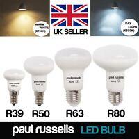 LED Frosted R39/R50/R63/R80 Reflector Light Bulbs Spot Light ES E27 E14 SES Lamp