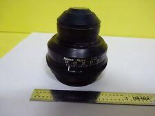 Microscope Part Substage Condenser Abbe Iris Nikon Japan As Is Binx7 20
