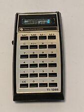 Vintage Texas Instruments Ti-1265 Electronic Calculator