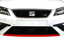 D050 Spoilerschwert Folie Rot Glanz für Seat Leon 5F Facelift Cupra FR SC ST 300