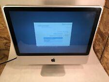 "Apple iMac 20"" A1224 2009 Intel C2D 2.66GHz 4GB 320GB OSX 10.11"