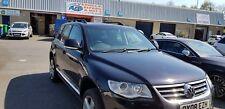 VW TOUAREG ALUMINIUM ROOF RAIL BARS RACKS SET BLACK 2002-2009(CROSS BAR NOT INC)