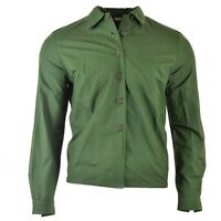 Original Swedish army green tactical combat shirt military surplus issue NEW.