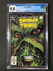 Swamp Thing #49 CGC 9.8 (1986) - Alan Moore story