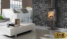 KOZA ORBIT - Curved Free Standing Contemporary Wood burning Stove Wood Burner