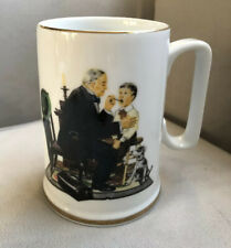 Norman Rockwell Country Doctor Mug, Vintage 1986
