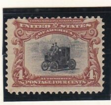 USA 1901 MNH PAN-AMERICAN EXPOSITION ELECTRIC AUTOMOBILE MINOR GUM DISTURBANCE