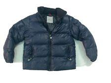 Moncler Giubbotto Bambino/a Unisex Size 12 Anni Piumino D'oca Blue Jacket