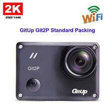 Original GitUp Git2P Standard Packing Wifi 2K HD 1080p 60fps Sport Action Camera
