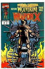 MARVEL COMICS PRESENTS #72 NM 1ST WEAPON-X! WOLVERINE'S ORIGIN! Barry Smith 1991