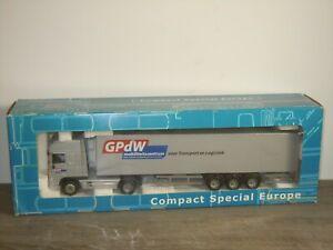 Daf 95 XF Truck & Trailer GPdW Mobiliteitscentrum - Joal CSE 1:50 in Box *51669