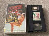 The SERPENT WARRIORS (1985) VIDEO SCREEN - EX-RENTAL PAL VIDEO IMPORT VHS VIDEO.