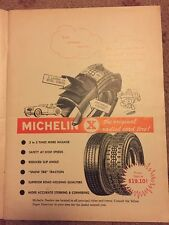 1964 Michelin Print AD vintage Automobilia Motor oil Car magazine advertising