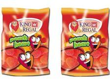 2x King Regal Golosinas Corazones Melocotón 100g