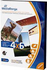 100 Mediarange Foto Papier 10x15 cm hochglanz 220g Tintenstrahl glossy DIN A6
