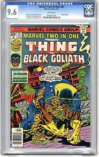 Marvel Two-In-One #24 CGC  9.6 NM+  wht pgs Early Black Goliath App 2/77 S.Busce