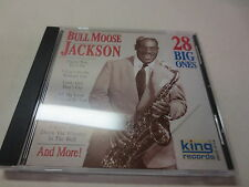 28 Big Ones by Bull Moose Jackson (CD, 2000, King)