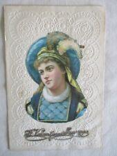 Antique Valentine, Decorated, Embossed Envelope,C.1880