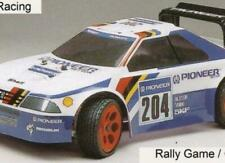 0157 Peugeot 405 Rally 1/8 Scale  325mm RC Car body Clear Serpent Cobra Traxxas