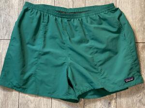"Patagonia Baggies Shorts beach Swim Trunk 5"" Inseam Green"