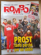 ROMBO n°45 1991 Ayrton Senna Gp Australia - Alain Prost   [P67]