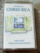 THE BEST OF CHRIS REA, NEW LIGHT THROUGH OLD WINDOWS, CASSETTE, 1988