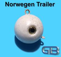Norwegen Trailer, 50g 75g 90g 115g 140g 170g Sea Trailer, Kugelblei mit Öse