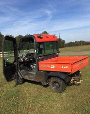 kubota RTV1100CW-9 utility vehicle (2011) A/C, heat, dump bed, used on farm only