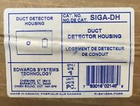 EST EDWARDS SYSTEMS TECHNOLOGIES SIGA-DH DUCT DETECTOR HOUSING **NEW** (A)
