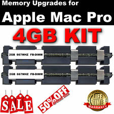 4GB (2X2GB) APPLE MAC PRO 2006 MA356D/A DDR2 667 FULLY BUFFERED DIMM £89.95