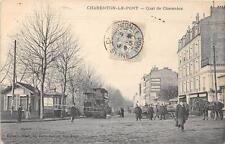 CPA 94 CHARENTON LE PONT QUAI DE CHARENTON