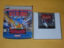 VIRTUAL BOY GAME RED ALARM NEW GAME AND BOX ONLY SEE DESCRIPTION