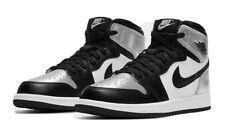 "Nike Air Jordan 1 Retro High OG ""Silver Toe"" Kid's Preschool Size 2C CU0449-001"