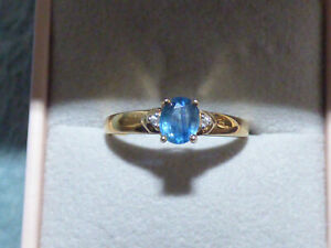 Superb Kanchanaburi Sapphire Ring