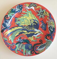 Firebird Bopla Porcelain Dinner Plate (Orange)