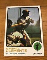 1973 Topps Reprint #50 Roberto Bob Clemente Pittsburgh Pirates Card MINT RP