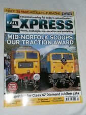 Rail Express Magazine no 201, February 2013.