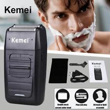 Men Electric Shaver Razor Beard Trimmer Hair Shaving Machine Rechargeable Set US