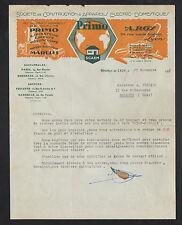 """LYON (69) USINE d'APPAREILS ELECTRO-MENAGER Primo """"Ets. A. ROY"""" en 1933"""