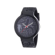 Lacoste Sport GOA Black Grey Silicone Strap Watch 2020067
