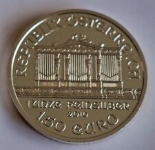 Österreich 1 Unze Silber 1,5 Euro Wiener Philharmoniker 2010 Gewicht 31.1 Gramm