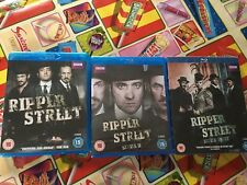 Ripper Street Series 1,2, & 3 Blu Rays Gripping And Grisly Cert 15 Good Series