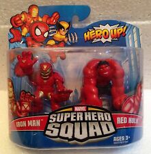 Hasbro Marvel Super Hero Squad Red Hulk and Iron Man Hero Up 2010