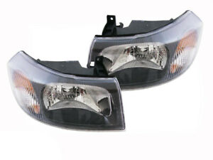 Pair Headlights For Ford Transit  8/00-9/06. VH VJ ADR COMPLIANT