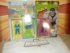MARVEL LEGENDS 3.75 INVISIBLE WOMAN & GREY HULK