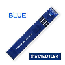 Staedtler Mars carbon 2mm Leads for Leadholder, 2mm Mechanical Pencil : BLUE