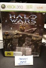 Halo Wars Limited Collector's Edition Xbox 360 with steelbook steel metal case