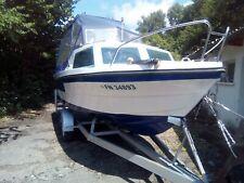 Motorboot mit Kajüte ohne Trailer ,mit  Außenborder, mit Bodenseezulasung