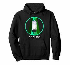 RETRO ANALOG Audio Design Vacuum Tube Pullover Hoodie by Turbo Volcano *NEW*